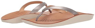 OluKai Iwi (Silver/Golden Sand) Women's Sandals
