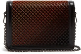 Bottega Veneta Montebello mini leather and velvet cross-body bag