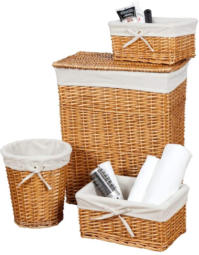 Creative Bath Wickerworks 4-pc. Hamper Set
