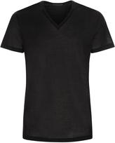 CLUB V-neck t-shirt