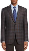 Canali Plaid Classic Fit Sport Coat
