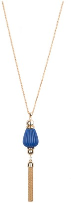 Bob Mackie Fluted Tassel Necklace