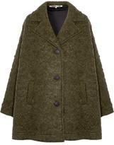 McQ Caban Oversized Wool-blend Bouclé Coat