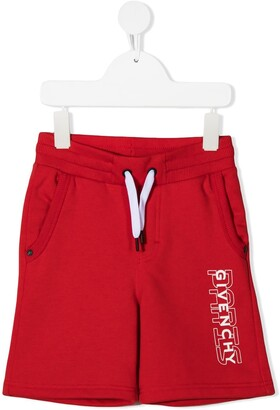 Givenchy Kids Logo Drawstring Shorts