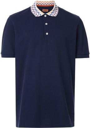 Missoni printed collar polo shirt
