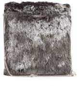 The Row Medicine large mink-fur shoulder bag
