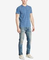 Denim & Supply Ralph Lauren Men's Indigo Cotton Pocket T-Shirt