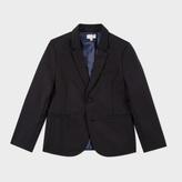 Paul Smith Boys' 2-6 Years Black Wool 'Mercury' Evening Blazer