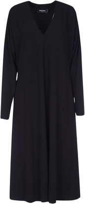 DSQUARED2 V-neck Long Dress