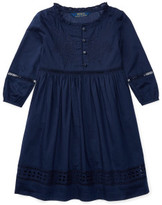 Polo Ralph Lauren Eyelet Cotton Voile Dress (2-7 Years)