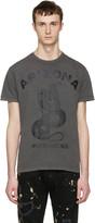 DSQUARED2 Grey arizona Snake T-shirt