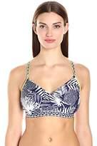 Jag Women's Leafy Escape D/Dd Cup Underwire Bikini Top