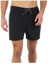 Hurley 16 Phantom Session Solid Boardshorts (Black) Men's Swimwear