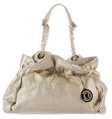 Christian Dior Le Trente Metallic Leather Shoulder Bag