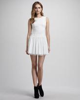Theyskens' Theory Lace-Overlay Dress
