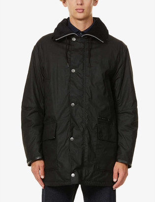 Barbour Supa-Commander waxed-cotton jacket