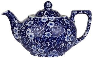 Burleigh Small Blue Calico Teapot
