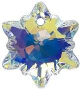 Swarovski Crystal, 6748 Edelweiss Pendant 14mm, 1 Piece, Crystal AB