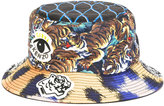 Kenzo multi icon bucket hat - men - Cotton/Polyester - One Size