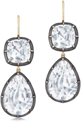 Fred Leighton Collet Double Drop Earrings