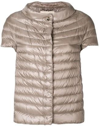 Herno Shortsleeved Padded Jacket