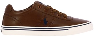 Polo Ralph Lauren Sneakers Hanford Lace-up Sneakers With Embroidered Logo