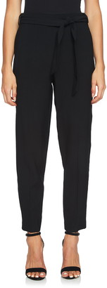 1 STATE Tie Waist Tapered Trousers