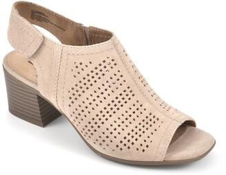 White Mountain Footwear Lorna Peep Toe Bootie