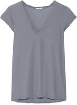 James Perse Cotton-jersey T-shirt - Blue