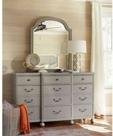 Paula Deen Dogwood Mirror in Cobblestone Finish