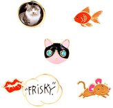 Betsey Johnson Betsey Gifting Critter Pin Set