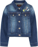 Catimini Jean jacket with fancy patches