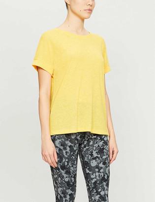 Sweaty Betty Ab Crunch stretch-jersey T-shirt