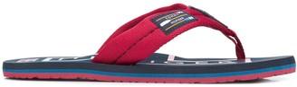 Tommy Hilfiger Logo Flip Flops
