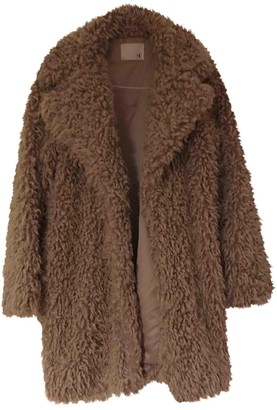 Supertrash Beige Coat for Women