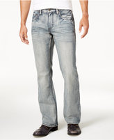 INC International Concepts Men's Boot Cut Gray Wash Jeans, Created for Macy's
