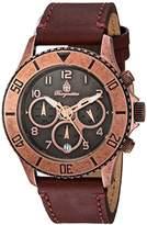 Burgmeister Women's Quartz Stainless Steel Casual Watch, Color:Brown (Model: BM532-315-1)