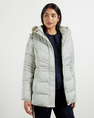 Ted Baker Fur Hood Puffa Coat