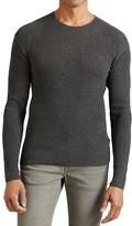 John Varvatos Waffle Stitch Sweater