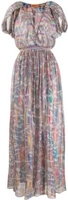 Missoni Abstract-Print Maxi Dress
