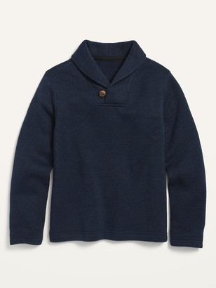 Old Navy Sweater-Knit Shawl-Collar Pullover for Boys