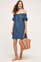 Corey Lynn Calter Denim Off-The-Shoulder Dress