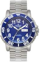 Croton Men's Stainless Steel Wristwatch - Silver/Multi-Colored