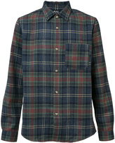 A.P.C. plaid shirt - men - Polyamide/Wool - L