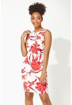 M&Co Roman Originals floral print scuba dress