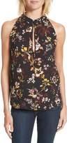 A.L.C. Women's Keith Floral Print Silk Top