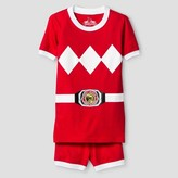 Power Rangers Boys' 2 Piece Pajama Set - Red