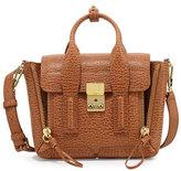 3.1 Phillip Lim Pashli Mini Leather Satchel Bag, Camel/Cognac