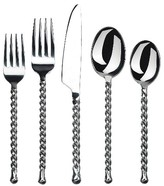 Gourmet Settings Silver Tear 20 Piece Flatware Set