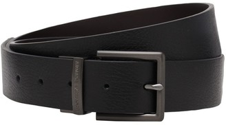 Armani Exchange 3.5cm Reversible Leather Belt